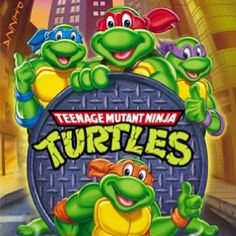 Teenage Mutant Ninja Turtles   I was a big fan but not like my friend Tommy. He was obsessed with the Turtles. His favorite was Michelangelo, mine was Raphael.