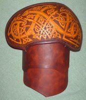 Leather Armour 2 spaulder by Maxrobo