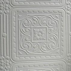 "Brewster Home Fashions Anaglypta Paintable Turner 33' x 20.5"" Damask 3D Embossed Wallpaper"