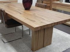 Timber Dining Table Room Tables Recycled
