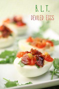 BYOB Happy Hour Picnic: BLT Deviled Eggs