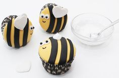 Bumble bee cupcakes - goodtoknow