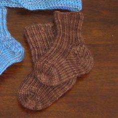 Baby Socks Knitting Pattern