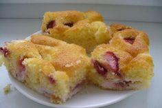 Jak upéct jahodový propadlý koláč | recept