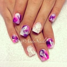 Marble-licious..done at Andy Nails Indpls,IN