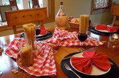 Italian tablescape