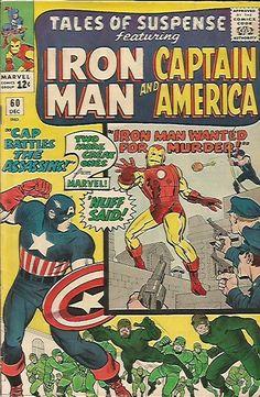 Tales of Suspense #60 Capt. America Iron Man Jack Kirby 1964 Marvel Comics 1stP