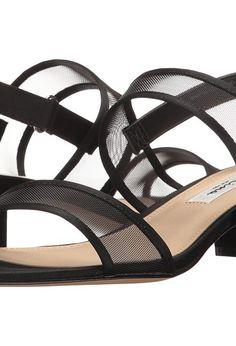 Nina Ganice (Black Luster Satin/Mesh) Women's Sandals - Nina, Ganice, GANICE-YM-004, Footwear Open Casual Sandal, Casual Sandal, Open Footwear, Footwear, Shoes, Gift, - Fashion Ideas To Inspire