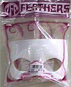 """Styrene Mask Form 7""""""""-Half-White Case Pack 5"""