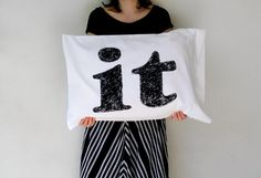Clearly, Its Black and White by Laura on Etsy