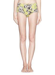 J. CREWPhoto floral bikini brief