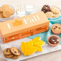 WIN FREE COOKIES!  Leave a comment to the following question... What are your Halloween costume plans?  You could #WIN our I Love Fall Box! #CookieCraze