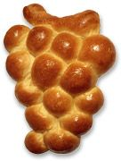 Grape shaped Challah