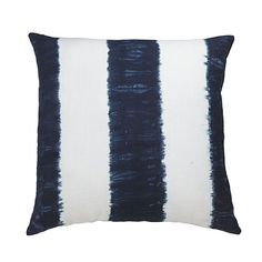 Wisteria - Accessories - Shop by Category - Throw Pillows - Indigo Stripe Pillow