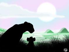 Ishara Teenager by dyb on DeviantArt Lion King 3, Pride Rock, Bambi, Panther, Animals, Art, Art Background, Animales, Animaux