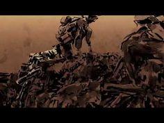 Film d'animation La tranchée sur la guerre des tranchées de 14-18.