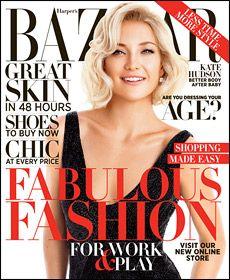 October's Cover Girl Kate Hudson - Short & Sweet hair