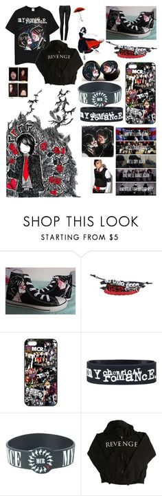 """REVENGE ERA - Cheers Rose"" by emoinnuendo ❤ liked on Polyvore featuring Hot Topic and Paul Frank"