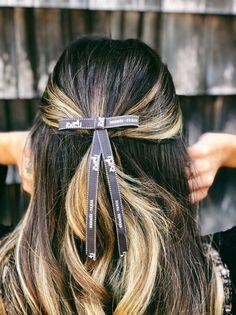 Hermès Grosgrain Hair Bow Barrette Simple Hair Bow   Etsy Black Headband, Pearl Headband, Ribbon Hair Ties, Hair Bows, Grosgrain Ribbon, Easy Hairstyles, Headpiece, Hair Inspiration, Hair Accessories
