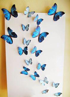 Butterfly Wall Decor: A Garden Inspired Home Decor Idea | Read more:   http://whatwomenloves.blogspot.com/2015/04/butterfly-wall-decor-garden-inspired.html
