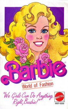 Barbie World of Fashion Booklet, 1984.