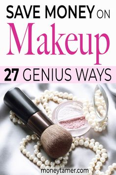 Here's how you can save tons of money on makeup and cosmetics and still look amazing. These tips will let you keep your favorite brands while spending less. Cheap Makeup Brands, Expensive Makeup Brands, High End Makeup Brands, Best Cheap Makeup, Best Makeup Brands, Makeup Companies, Makeup You Need, Makeup To Buy, Saving Tips