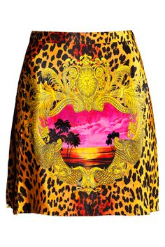 Versace for H Silk Skirt, $69.95 (a favourite repin of VIP Fashion Australia - providing a portal to exclusive fashion au and style from across the globe. www.vipfashionaustralia.com - Specialising in blacklabel fashion - womens clothing Australia - global fashion houses - Italian fashion and fashion boutiques )