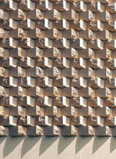 F1 / 304 FACING BRICK; Mauerwerksverband der Bishop Edward King Chapel; Niall McLaughlin Architects