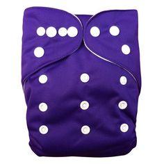 U PICK 1pc ALVABABY Reusable Plain Pocket Diaper Washable Baby Nappy Baby Cloth Diaper Unisex with Microfiber insert