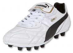 Puma King Top White Gold Black- Prior to my discovery of the powerswerve  this was. Puma Football BootsPumasSoccer ... 88b86c315