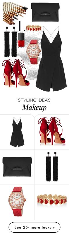 """Bez naslova #161"" by jelllenaa on Polyvore featuring bürgi, Topshop, Aquazzura, Tom Ford, Givenchy, NARS Cosmetics, Alison Lou, women's clothing, women and female"