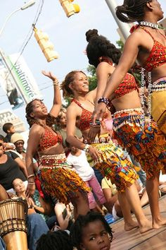 African dance - can we rebrand those flags ?