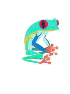 Blue colored froggy