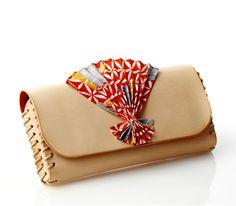 Hand-made Kimono Clutch bag