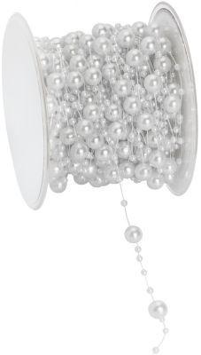 Perlenschnur, weiß, 6 mm, 15 m € 9,95