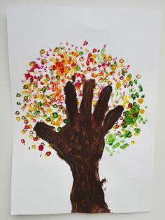 DYI: Fall crafts for kids - Podzimní tvoření s dětmi