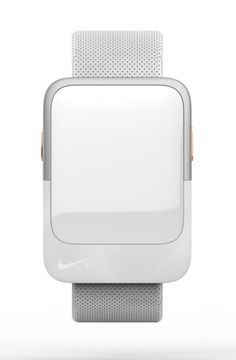 Check this out on leManoosh.com: #Leather #Material Break #Minimalist #Nike #Silver #Watch #White