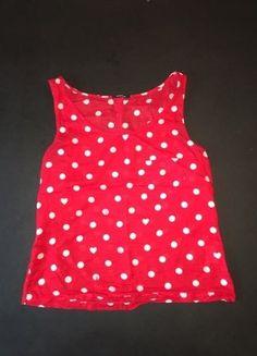 Kaufe meinen Artikel bei #Kleiderkreisel http://www.kleiderkreisel.de/damenmode/tanktops/149075426-wood-wood-shirt-rot-polka-dots