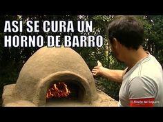 """Así se cura un Horno de Barro """"El Rincón del Soguero"""" - YouTube"""