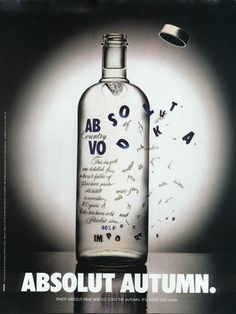 Absolut Vodka.