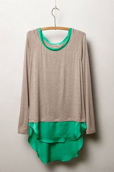 Avaline Scoopneck- Anthropologie I love it in every color T Shirt Reconstruction, Diy Clothes, Clothes For Women, Couture, Refashion, Dress To Impress, What To Wear, Anthropologie, Style Me