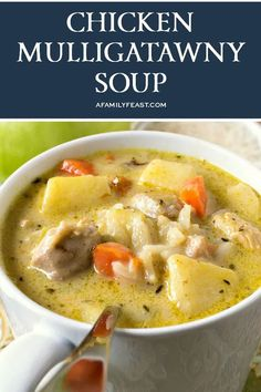 Fall Recipes, Indian Food Recipes, Canadian Recipes, Cooking For Four, Mulligatawny, Chicken Soup Recipes, Chicken Meals, Slow Cooker Freezer Meals, Recipe Today