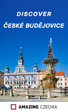 České Budějovice is the capital city of South Bohemia (in Czechia). It is internationally famous for its beer, known in other countries as Budweiser, after the German name of the city: Budweis. The city also played a role in one of the greatest works of Czech literature: The Good Soldier Švejk.  #Czechia #CeskeBudejovice #Czech #CzechRepublic #Bohemia #travel #Europe #city #Česko #ČeskeBudějovice The Good Soldier Svejk, Travel Destinations, Travel Europe, Austro Hungarian, Grand Hotel, 14th Century, Roman Catholic, Capital City, Czech Republic