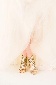 gold & blush