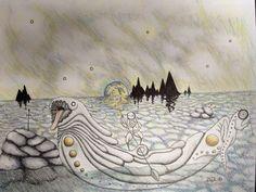 Luna navis by K. Drayton