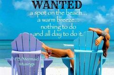 Beach...Its what I do...Nothing alk day!!