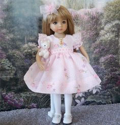 """Kitty Me Outfit Kitty Necklace for 13"""" Dianna Effner Little Darling Doll   eBay"""