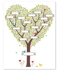 Last Minute Gift Idea!! New My Digital Studio Family Tree Template! ONLY $4.95! - Joyce Stamps