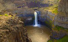 Palouse Falls Washington - for more visit:  http://www.amazingplacesonearth.com/