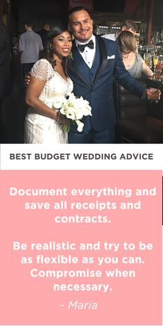 5 real brides weigh in on their best budget advice for the perfect wedding celebration!